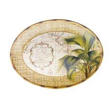 "Las Palmas 16"" Oval Platter"