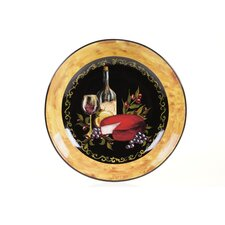 "Wine and Cheese Party 13.25"" Pasta/Serving Bowl"
