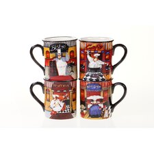 Trattoria 16 oz. Mug (Set of 4)