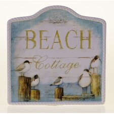 "<strong>Certified International</strong> Beach Cottage 12.75"" Platter"