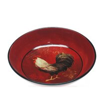 "Avignon Rooster 13.25"" Pasta/Serving Bowl"
