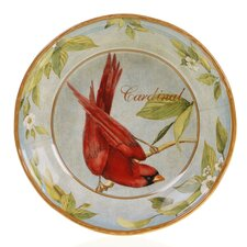 "Botanical Birds 12.25"" Pasta/Serving Bowl"