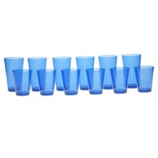 Acrylic Hammered Glass Drinkware (Set of 12)