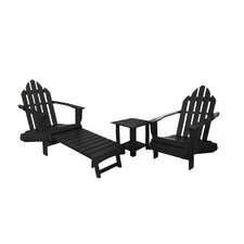 Classic 3 Piece Adirondack Seating Group