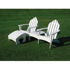 <strong>Eagle One</strong> Adirondack Tete-a-Tete Seating Group