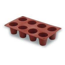 Kuchenform zylindrisch mit 8 Löchern