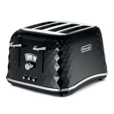Brillante Faceted Toaster in Black