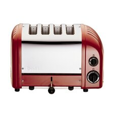 Combi 2 + 2 Toaster in Red