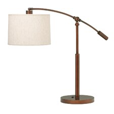 "Cantilever 26.5"" H Table Lamp with Drum Shade"