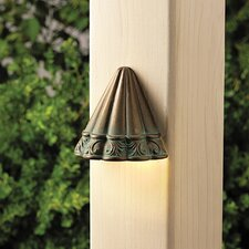 <strong>Kichler</strong> Ainsley Square Scalloped Deck Light