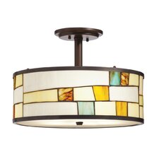 Mihaela 3 Light Semi Flush Mount