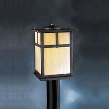 Canyon View 1 Light Outdoor Post Lantern