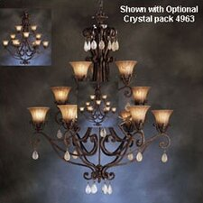 Cottage Grove Indoor 1 Carre Bronze Incandescent Chandelier