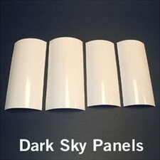 "<strong>Kichler</strong> 9.5"" Dark Sky Panel Sets in White"