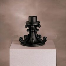 Outdoor Pedestal Lamp Post Mount