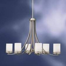<strong>Kichler</strong> Hendrik 6 Light Chandelier