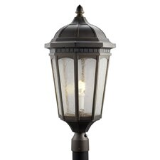 "<strong>Kichler</strong> Courtyard 1 Light 12.25"" Outdoor Post Lantern"