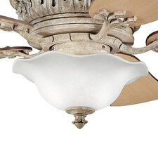 Heather Glass Bowl Ceiling Fan Light Kit