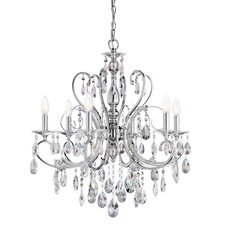 Marcalina 6 Light Crystal Chandelette