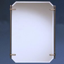 "Polygon 32"" H x 24.25"" W Beveled Mirror"