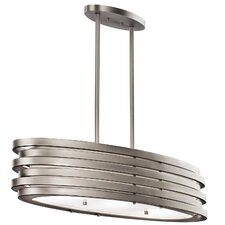Roswell 3 Light Island Pendant