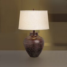 "New Informality Oval 24.25"" H Table Lamp"