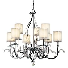 Jardine 9 Light Chandelier