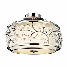 Jardine 3 Light Semi Flush Mount