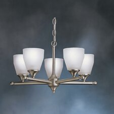 Ansonia Indoor 5 Light Chandelier