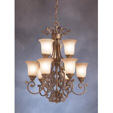 Larissa Indoor 9 Light Chandelette