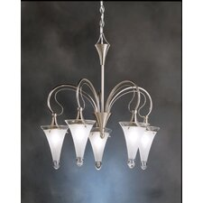 <strong>Kichler</strong> Raindrops 5 Light Chandelier