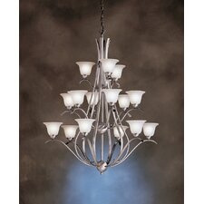 <strong>Kichler</strong> Dover 15 Light Chandelier