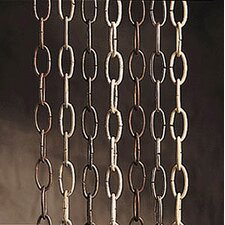 """36"""" Decorative Chain in Burnished Antique Brass"""
