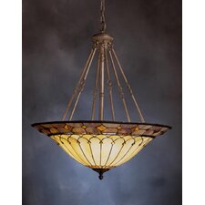 Classic 6 Light Inverted Pendant