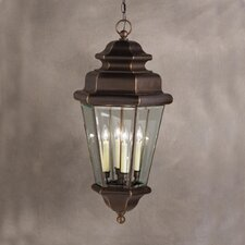 Savannah Estates 4 Light Outdoor Ceiling Pendant