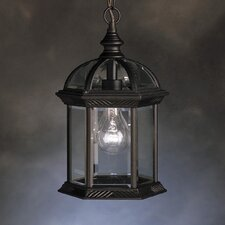 New Street 1 Light Outdoor Ceiling Pendant