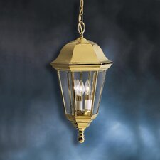 3 Light Outdoor Ceiling Pendant