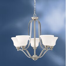 Langford 5 Light Up Chandelier