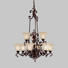 <strong>Kichler</strong> Wilton 9 Light Chandelier