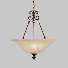 Wilton 3 Light Inverted Pendant