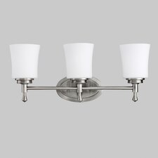 Wharton 3 Light Vanity Light