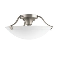 <strong>Kichler</strong> 3 Light Semi Flush Mount