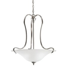 <strong>Kichler</strong> Wedgeport 3 Light Inverted Pendant