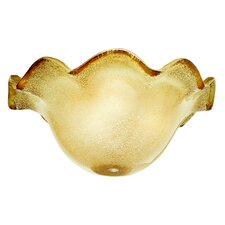 "11.81"" Rochelle Glass Ceiling Fan Bowl Shade"