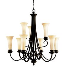 <strong>Kichler</strong> Abbeyville 9 Light Chandelier