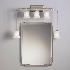 Silverton Mirror in Brushed Nickel
