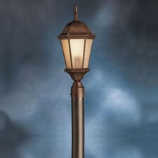 "1 Light 23"" Cast Aluminum Outdoor Post Lantern"