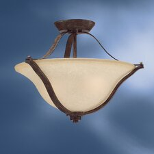 <strong>Kichler</strong> Langford 2 Light Semi Flush Mount