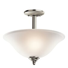 <strong>Kichler</strong> Wynberg 2 Light Semi Flush Mount