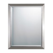 "30"" H x 24"" W Rectangular Mirror"